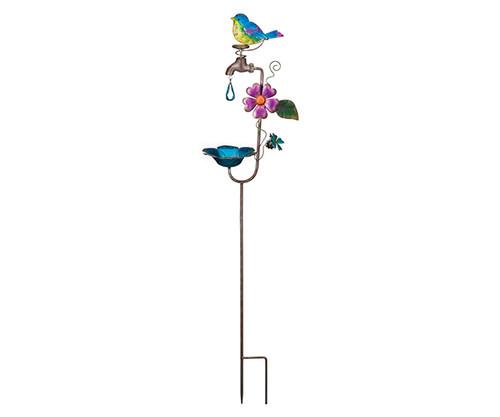 REGAL ART & GIFT - Bird Faucet Bird Feeder Stake REGAL12147 657641121474