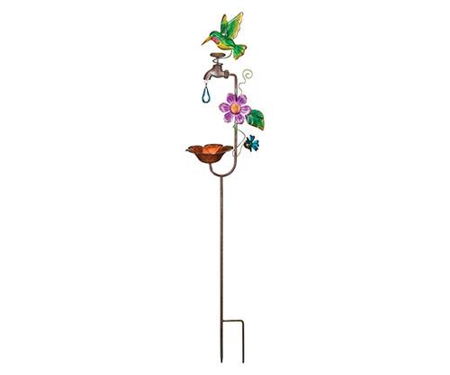 REGAL ART & GIFT - Hummingbird Bird Feeder Stake REGAL12151 657641121511