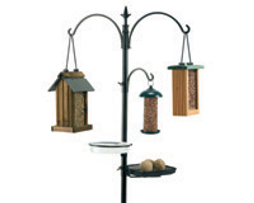 RAINBOW GARDMAN - Wild Bird Feeding 5 Station Pole Kit (RGBA01131) 745487011315