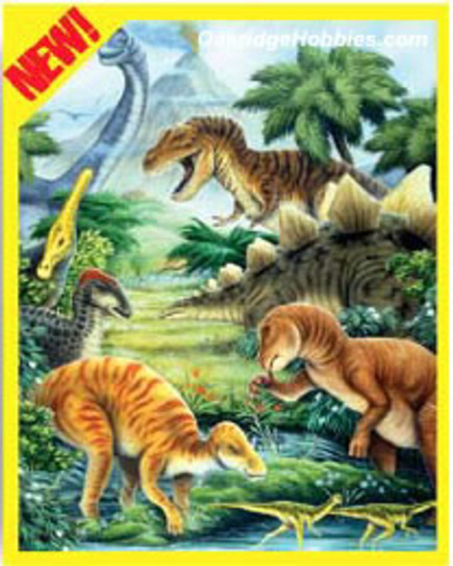 ROYAL BRUSH - DINOSAURS DAY - Pencil By Number Craft Art Kit (CPN12) 090672057129