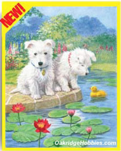 ROYAL BRUSH - WESTIES - Pencil By Number Craft Art Kit (CPN8) 090672057082