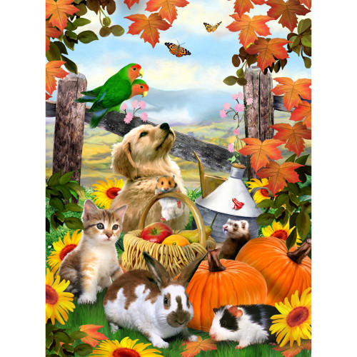"""ROYAL BRUSH - """"Autumn Festival"""" Painting by Numbers Kit (PJS79) 090672077264"""