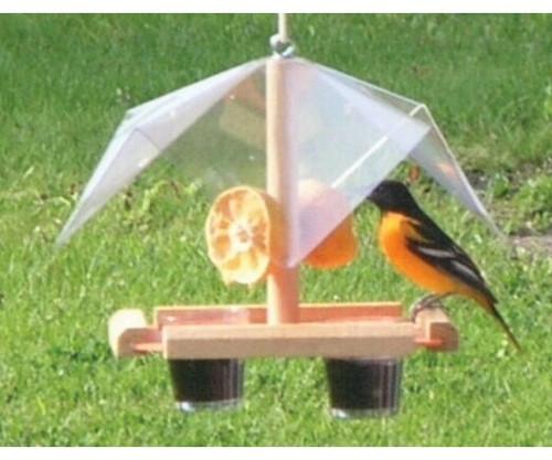SONGBIRD ESSENTIALS - Oriole Feeder Buffet Fruit and Jelly Bird Feeder (SE560) 645194005600