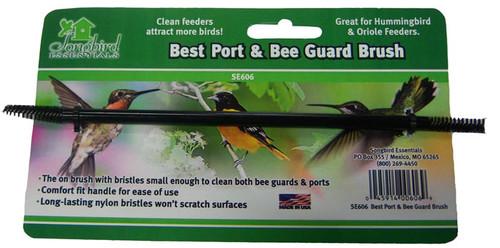 SONGBIRD ESSENTIALS - Best Hummingbird Feeder Port & Bee Guard Brush (SE606) 045914006069