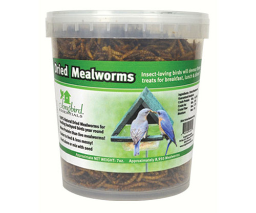SONGBIRD ESSENTIALS - 16 oz Tub of Dried Mealworms (SE658) 645194616585