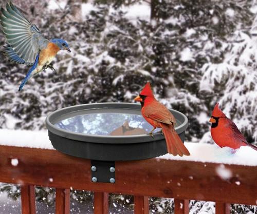 SONGBIRD ESSENTIALS - Heated Songbird Spa Deck Mounted Bird Bath SE995 645194009950