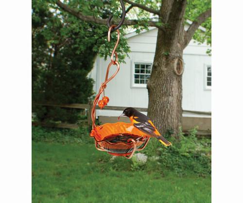 SONGBIRD ESSENTIALS - Copper Oriole Jelly Bird Feeder - Single Cup SEHHORSC 645194770416