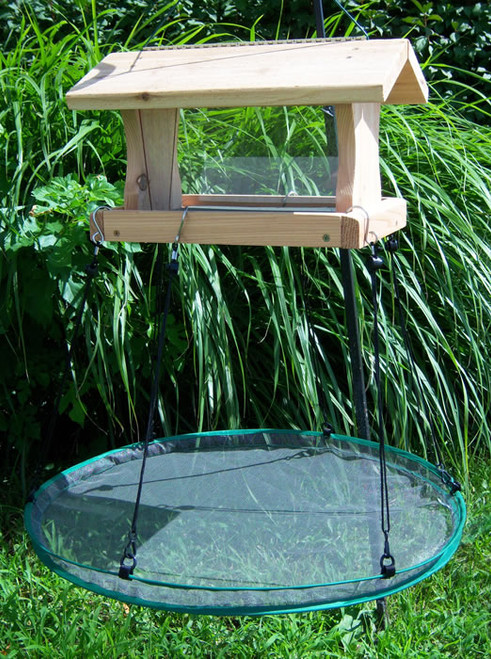 SONGBIRD ESSENTIALS - Seed Hoop - Hanging Under-Feeder Seed Catch Tray - 24 in (SEIA30024) 645194300248