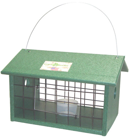 SONGBIRD ESSENTIALS - Caged Meal Worm Jail Bird Feeder (SERUBMWJAIL) 645194003002