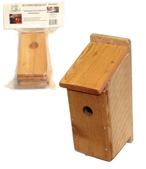 SONGBIRD ESSENTIALS - Bluebird House Craft Kit (SESC00605) 645194605008