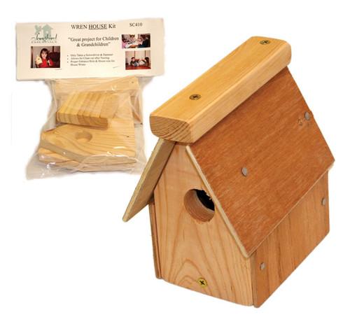 SONGBIRD ESSENTIALS - Wren House Craft Kit (SESC410) 645194004108