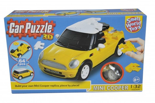 SMALL WORLD TOYS - 3D Puzzle Car MINI COOPER (3357074) 090543570740