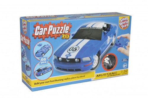 SMALL WORLD TOYS - 3D Puzzle Car MUSTANG (3357090) 090543570800