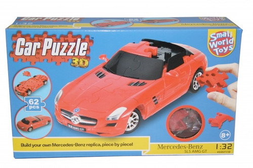 SMALL WORLD TOYS - 3D Puzzle Car MERCEDES (3357110) 090543571105
