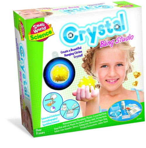 SMALL WORLD TOYS - Crystal Growing Studio Science Activity Kit (4311917) 090543119178