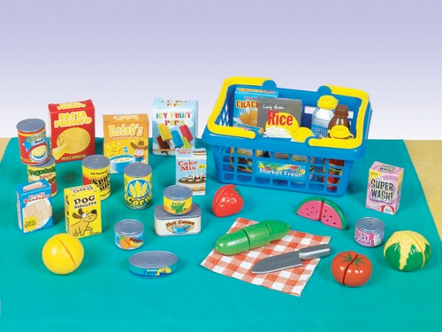 SMALL WORLD TOYS - Get To The Grocer Play Food Set (8622944) 090543229440
