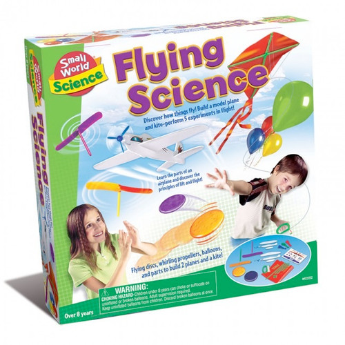 SMALL WORLD TOYS - Flying Science Activity Kit (9725332) 090543253322