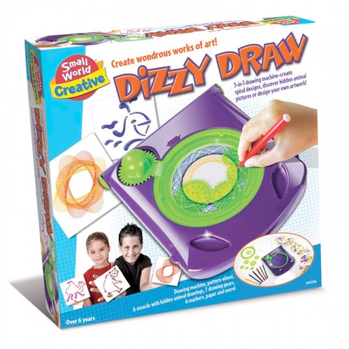 SMALL WORLD TOYS - Dizzy Draw Spiral Geometric Art (9725394) 090543253940