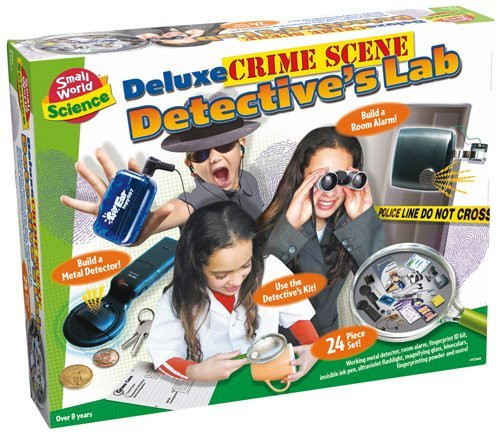 SMALL WORLD TOYS - Active Detective Activity Kit (9725466) 090543254664