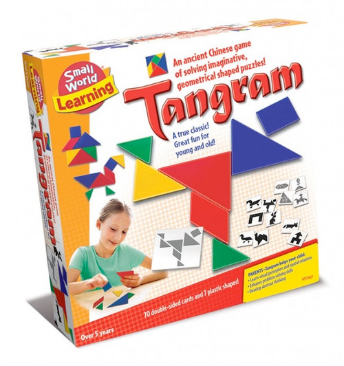 SMALL WORLD TOYS - Tangram Puzzle Set (9725627) 090543256279