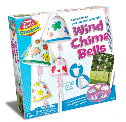 SMALL WORLD TOYS - Wind Chime Bells Activity Kit (9725747) 090543257474