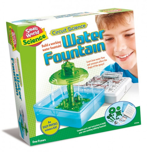 SMALL WORLD TOYS - Circuit Science - Water Fountain Science Activity Kit (9725766) 090543257665