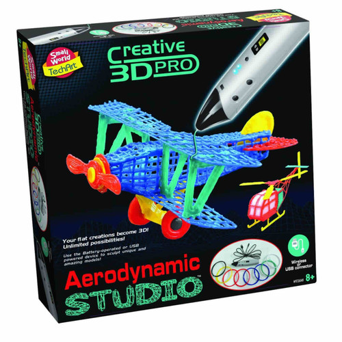 SMALL WORLD TOYS - 3D Printing Pen Aerodynamics Studio Activity Kit (9726149) 727565061498