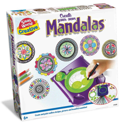 SMALL WORLD TOYS - Create your own Mandalas Spiral Art (9726182) 727565061825