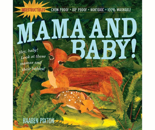 WORKMAN PUBLISHING Mama and Baby Indestructible Book (WMP0761158592) 9780761158592