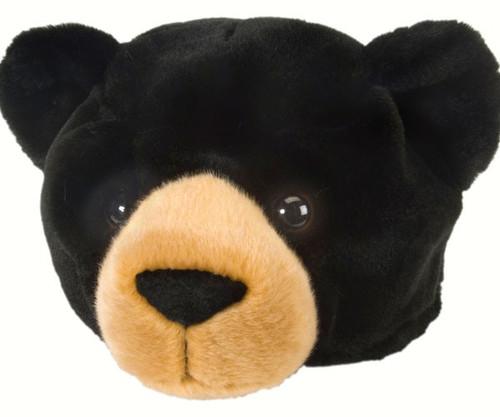 WILD REPUBLIC - Kid's Plush Hat - Black Bear WR10100 092389101003