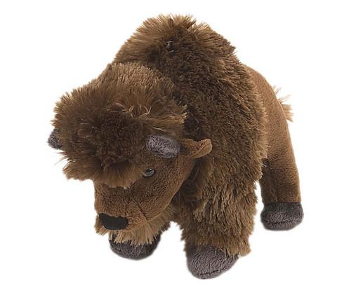 """WILD REPUBLIC - Bison 8"""" Plush Animal Toy WR10856 092389108569"""