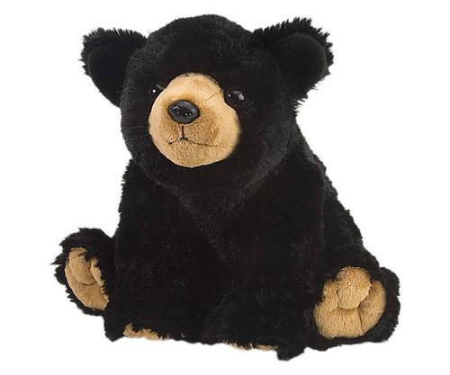 "WILD REPUBLIC - Black Bear 12"" Plush Animal Toy WR10901 092389109016"