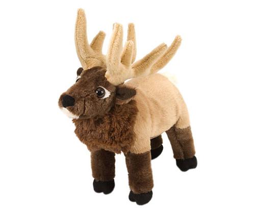 "WILD REPUBLIC - Elk 8"" Plush Animal Toy WR11472 092389114720"