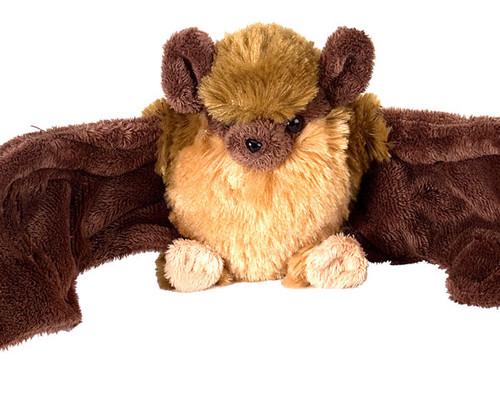 """WILD REPUBLIC - Brown Bat 8"""" Plush Animal Toy WR12291 092389122916"""