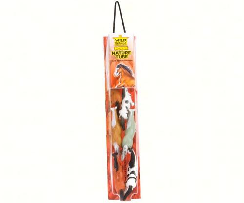 WILD REPUBLIC - Nature Tube - Horse Toy Animal Figures WR12887 092389128871