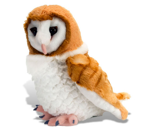 "WILD REPUBLIC - Barn Owl 12"" Plush Animal Toy WR13466 092389134667"