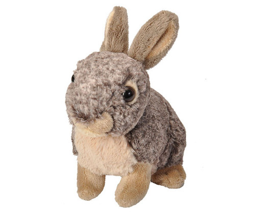 "WILD REPUBLIC - Bunny 8"" Plush Animal Toy WR18044 092389180442"