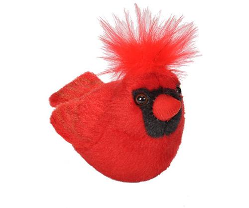 WILD REPUBLIC - Cardinal Plush Bird Toy with Sound WR18221 092389182217