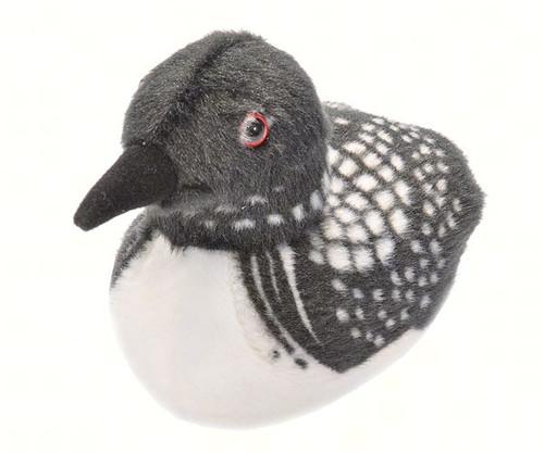 WILD REPUBLIC - Common Loon Plush Bird Toy with Sound WR18242 092389182422
