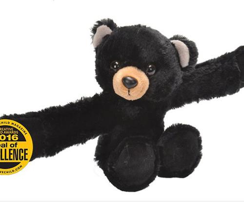 WILD REPUBLIC - Black Bear Hugger Plush (WR19555) 92389195552