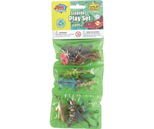 WILD REPUBLIC - Mini Lizards Playset WR86445 092389864458