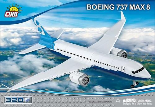 COBI 320 pcs Boeing 737 8 Max (26175) 5902251261747