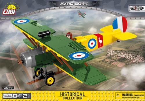 COBI 230 pcs Small Army AVRO 504K (2977) 5902251029777