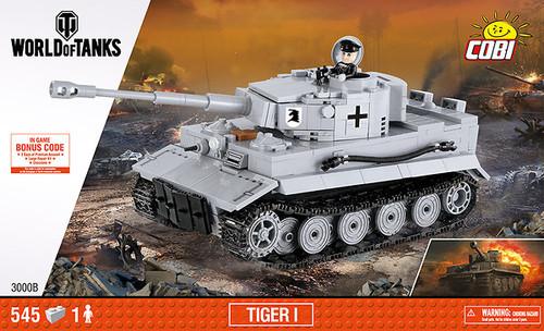 COBI 540 pcs Small Army WOT Tiger I (3000B) 5902251030001