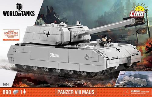 COBI 890 pcs Small Army Panzer VIII Maus (3024) 5902251030247
