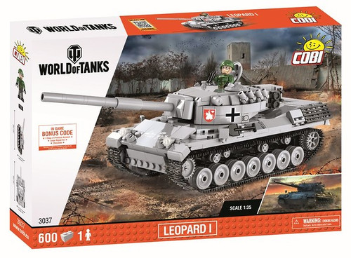 COBI 600 pcs Small Army WOT Leopard I (3037) 5902251030377