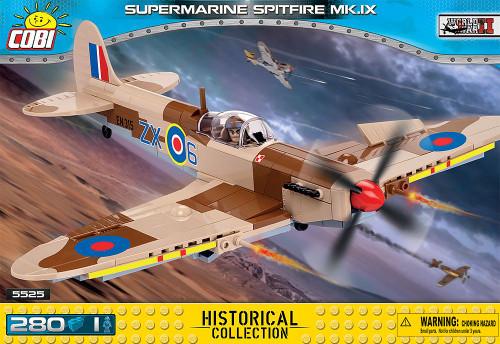 COBI 280 pcs Small Army Supermarine Spitfire MK. IX (5525) 5902251056257