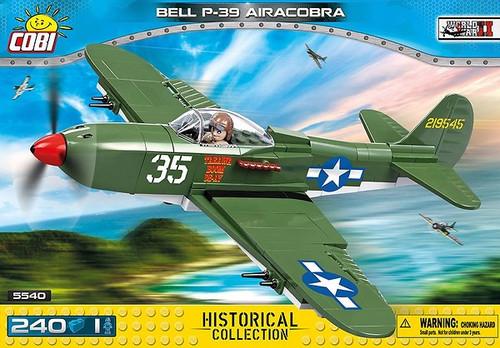 COBI 231 pcs Small Army Bell P39 Aircobra (5540) 5902251055400