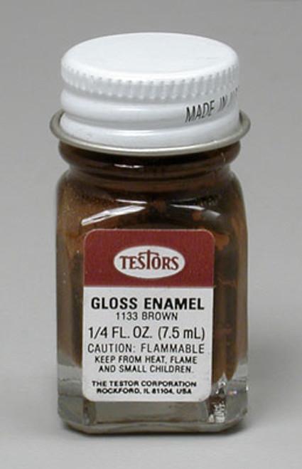 TESTORS - 1133 Light Brown 1/4 oz. Enamel Paint 075611113302
