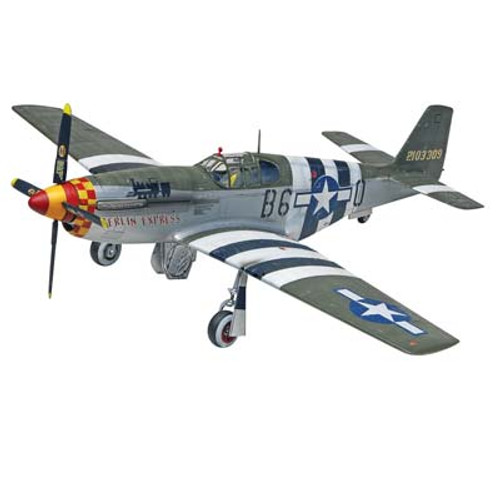 REVELL - 855535 1/32 P-51B Mustang Plastic Model Airplane Kit 031445055355